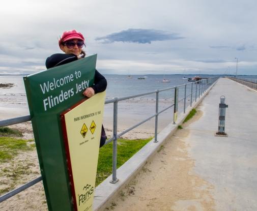PT at Flinders Pier