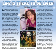 Dec 2014 Ostomy Australia Magazine (pg 20-21 Feature Article)