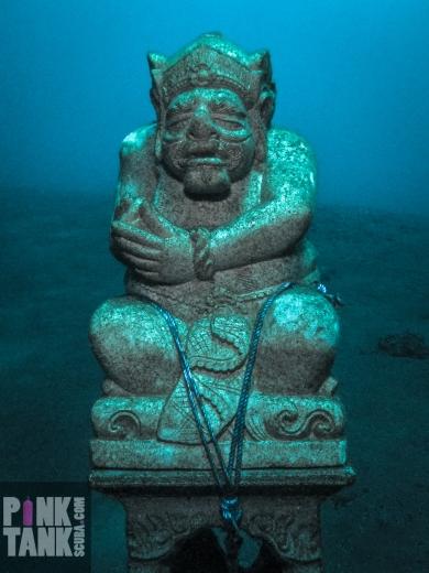 LOGO Bali Weird Man Statue
