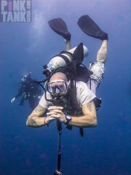 LOGO Maldives Diver Tony with Tattoos